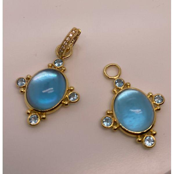 Blue Topaz charms Mystique Jewelers Alexandria, VA