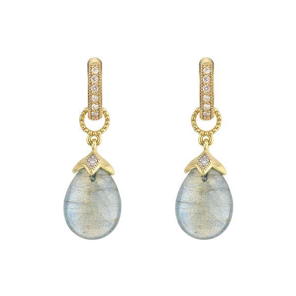 Labradorite  Pear Shape Briolette Earring Charms  Mystique Jewelers Alexandria, VA