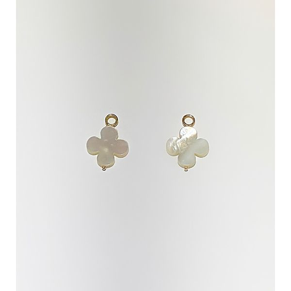 Mother of Pearl Flower Earring Charm Mystique Jewelers Alexandria, VA