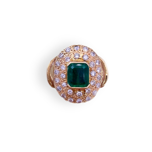 Emerald Diamond Ring  Mystique Jewelers Alexandria, VA