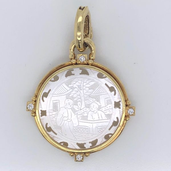 Roman Coin Pendant  Mystique Jewelers Alexandria, VA