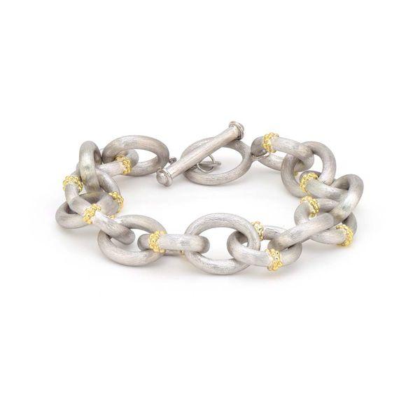 Jude Frances Mixed metal  Link Toggle Bracelet  Mystique Jewelers Alexandria, VA