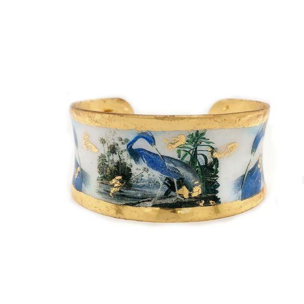 Blue Heron Cuff  Image 2 Mystique Jewelers Alexandria, VA