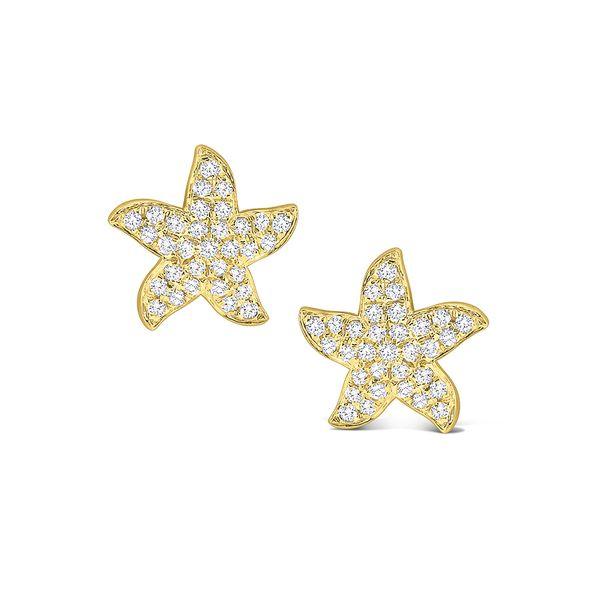 Diamond Starfish Stud Earrings Mystique Jewelers Alexandria, VA