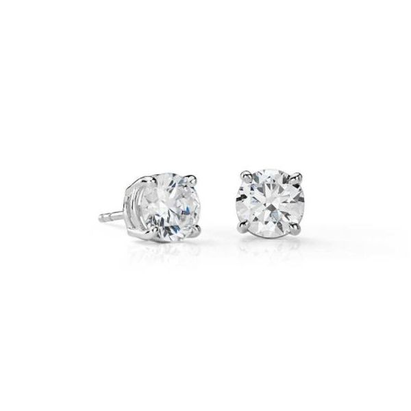 Diamond earrings 1.40 carat  Mystique Jewelers Alexandria, VA