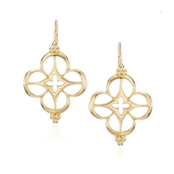 18K Yellow Gold Drop Earring Mystique Jewelers Alexandria, VA
