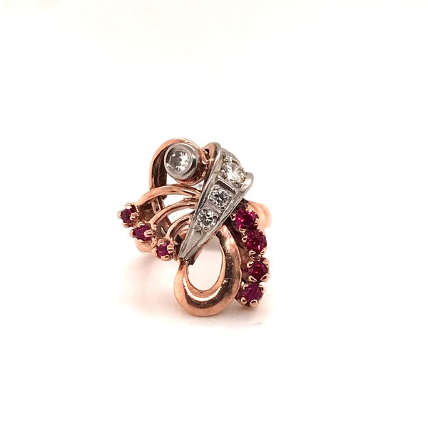 Surreal Ruby & Diamond Ring Mystique Jewelers Alexandria, VA