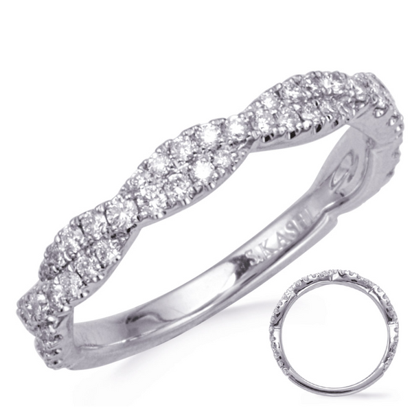 Diamond Tight Twist Band Mystique Jewelers Alexandria, VA