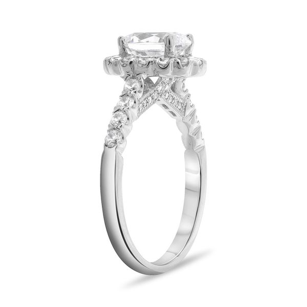 Classic Halo Engagement Setting Image 2 Mystique Jewelers Alexandria, VA