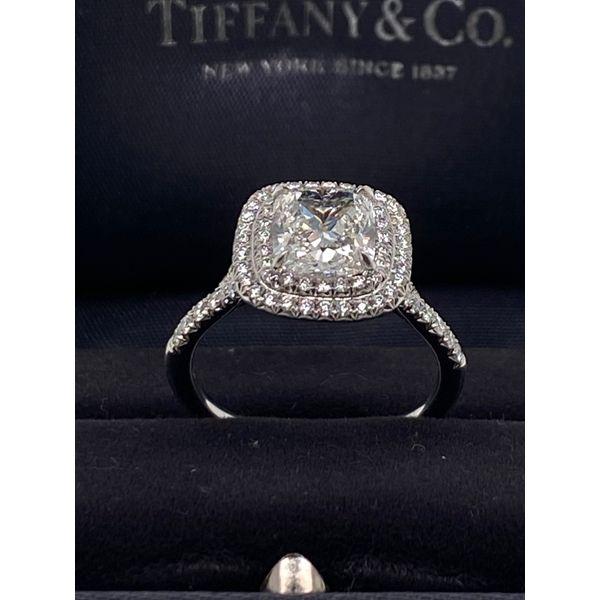 Designer Tiffany Engagement ring  Image 2 Mystique Jewelers Alexandria, VA