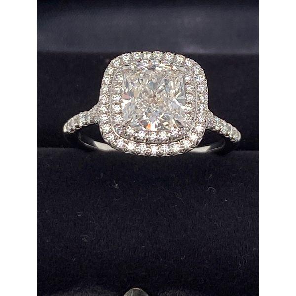 Designer Tiffany Engagement ring  Image 3 Mystique Jewelers Alexandria, VA