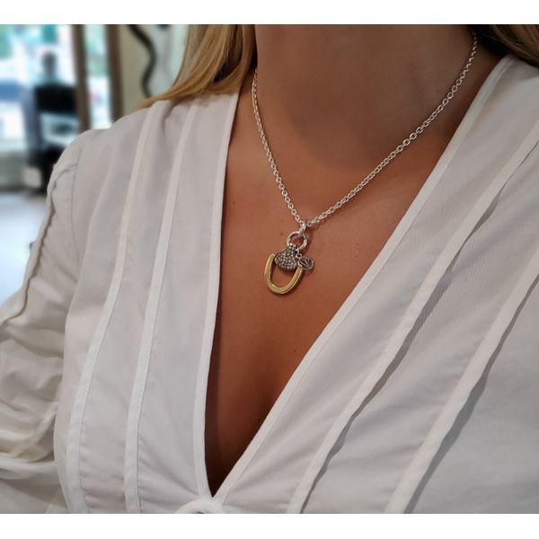 Churchill Downs Necklace | Multi Diamond Image 2 Mystique Jewelers Alexandria, VA
