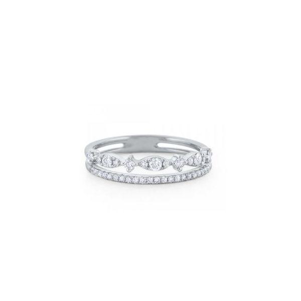 Double Diamond Ring Mystique Jewelers Alexandria, VA