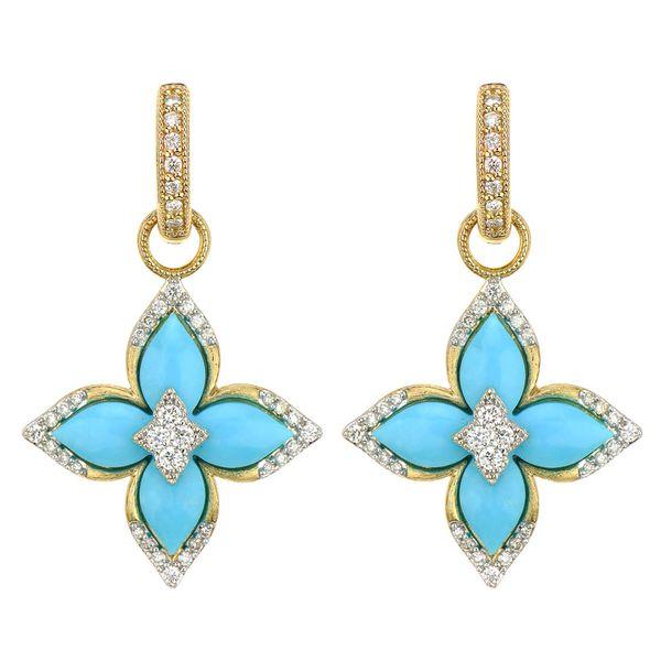 Moroccan Flower Earring Charms Mystique Jewelers Alexandria, VA