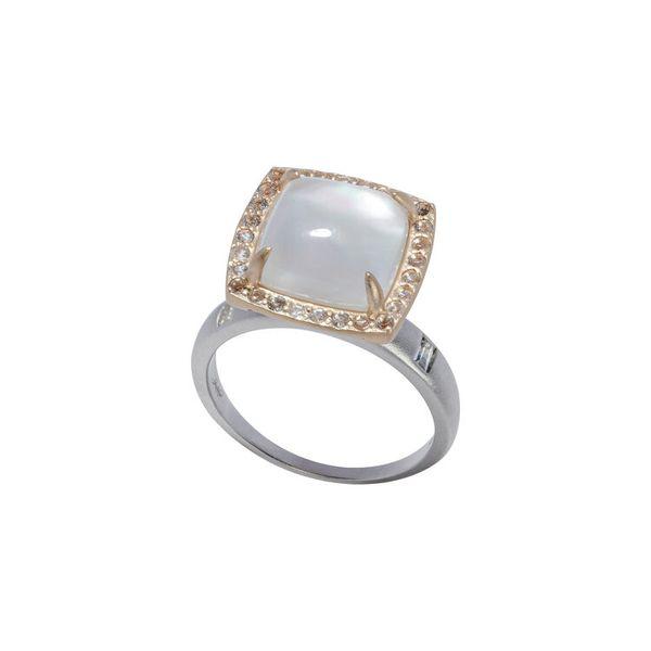 Rock Crystal Diamond Cocktail Ring Mystique Jewelers Alexandria, VA