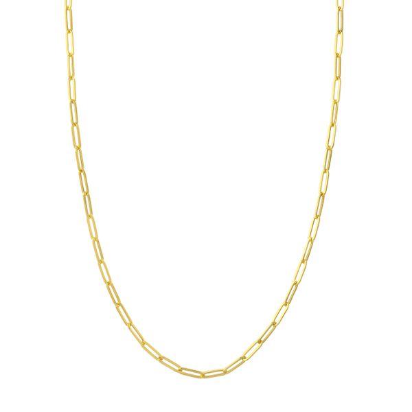 Paperclip Chain Necklace Mystique Jewelers Alexandria, VA