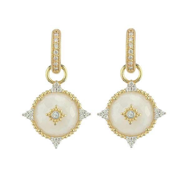 Provence Moonstone Diamond Point Earring Charms Mystique Jewelers Alexandria, VA