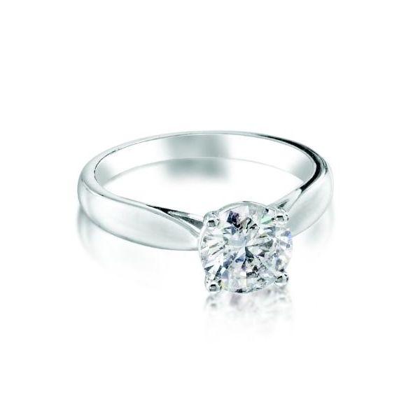 1.00 ct diamond ring  Mystique Jewelers Alexandria, VA