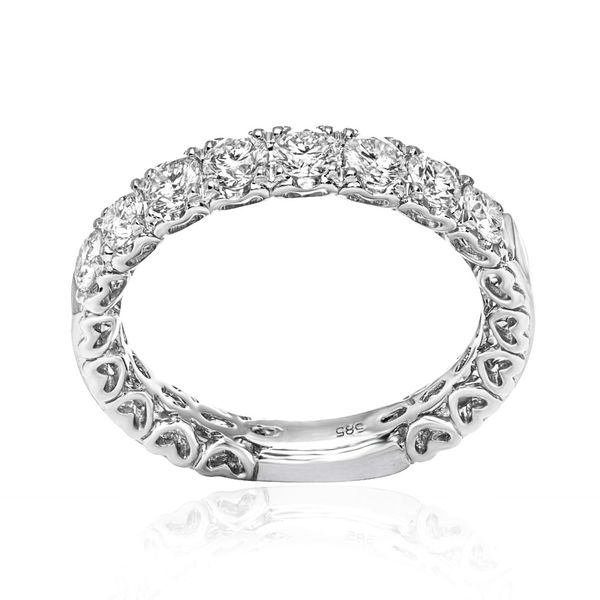 Diamonds and Hearts Band  Mystique Jewelers Alexandria, VA