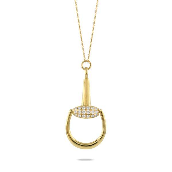 Diamond Horse Bit Necklace Mystique Jewelers Alexandria, VA