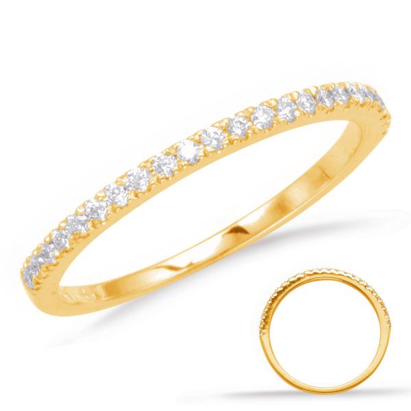 Yellow Gold Diamond Band Mystique Jewelers Alexandria, VA