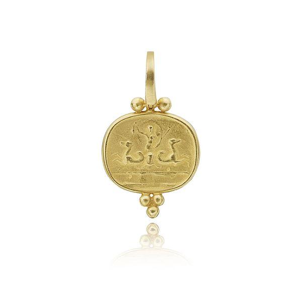 Gold Etruscan Style Enhancer Mystique Jewelers Alexandria, VA