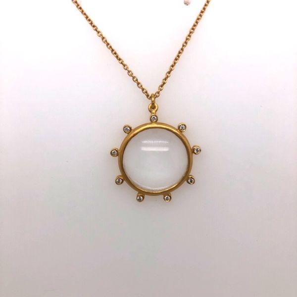 Glass Diamond Necklace Mystique Jewelers Alexandria, VA