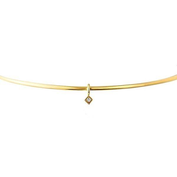 Necklace Diamond Charm Mystique Jewelers Alexandria, VA