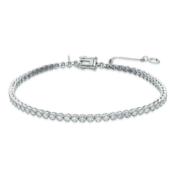 White Diamond Tennis Bracelet Mystique Jewelers Alexandria, VA