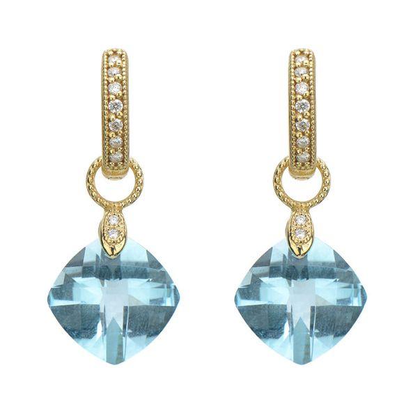 Small Cushion Silhouette Earring Charms Mystique Jewelers Alexandria, VA