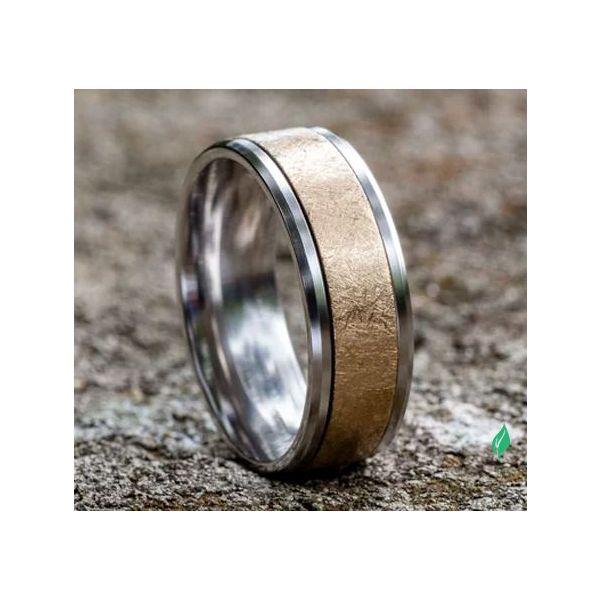Sculpted Gold ring Image 4 Mystique Jewelers Alexandria, VA