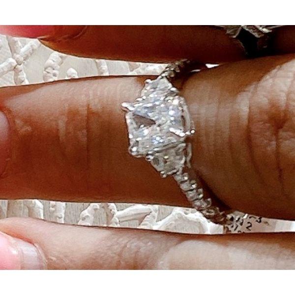 Radiant Diamond Ring Image 2 Mystique Jewelers Alexandria, VA