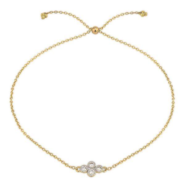 Petite Quad Chain Bracelet Mystique Jewelers Alexandria, VA