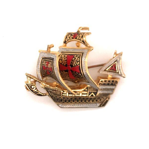 Vintage enamel pin Mystique Jewelers Alexandria, VA
