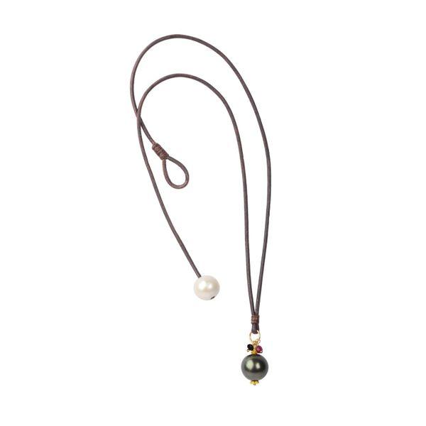 Royal Drop Tahitian Necklace Mystique Jewelers Alexandria, VA