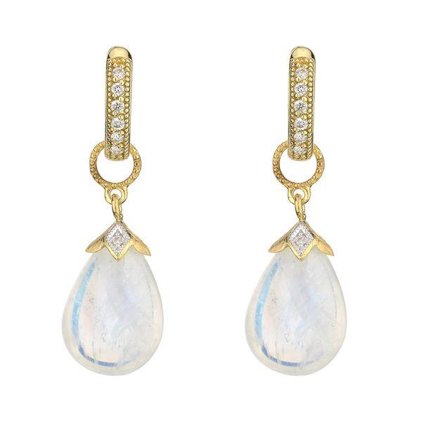 Pear Shape Briolette Earring Charms Mystique Jewelers Alexandria, VA