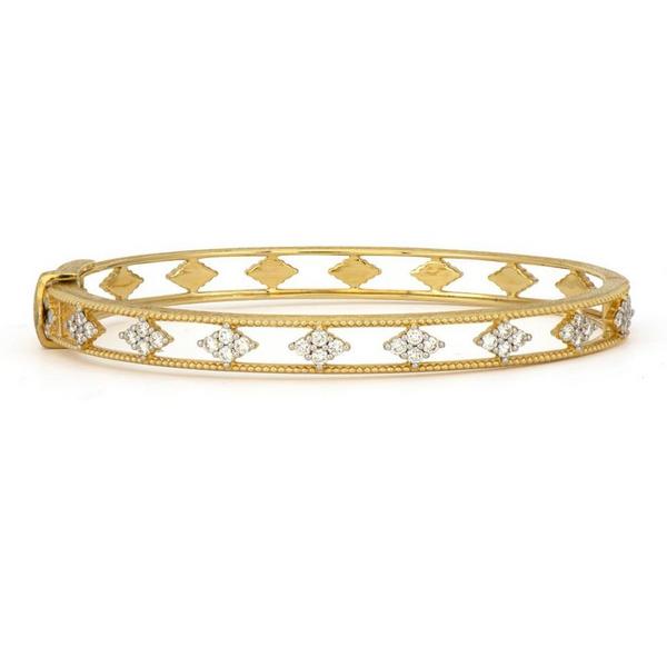 Provence Open Air White Diamond Bracelet Mystique Jewelers Alexandria, VA