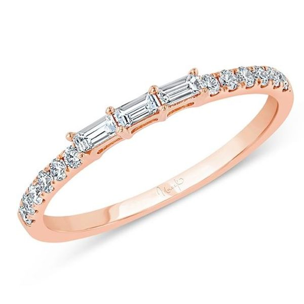 Baguette and Round Diamond Ring Mystique Jewelers Alexandria, VA