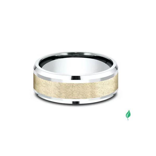 Sculpted Gold ring Image 3 Mystique Jewelers Alexandria, VA