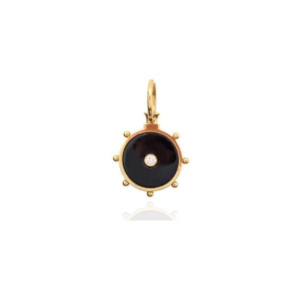 Florence Pendant in Onyx Mystique Jewelers Alexandria, VA