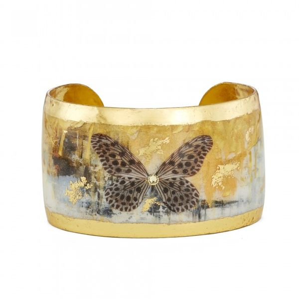 Gold Rush Butterfly Cuff - 1.5