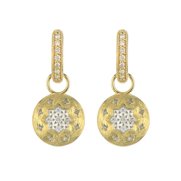 Moroccan Star Circled Earring Charm Mystique Jewelers Alexandria, VA