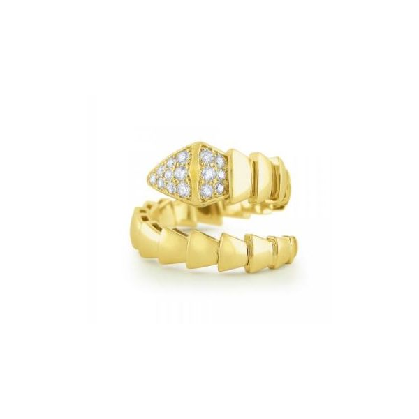 Diamond Snake Ring Mystique Jewelers Alexandria, VA