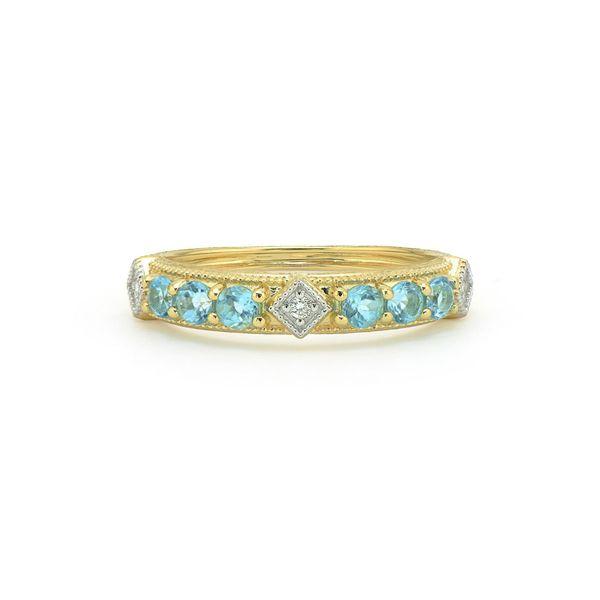 Single Round Stone Lisse Band Mystique Jewelers Alexandria, VA