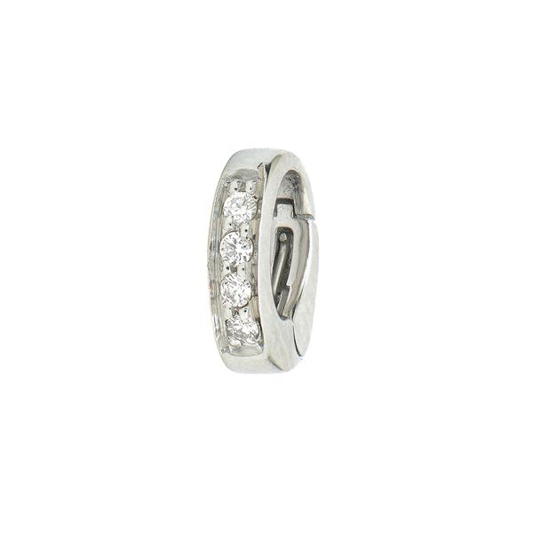 Oval Diamond Openable Bale Mystique Jewelers Alexandria, VA