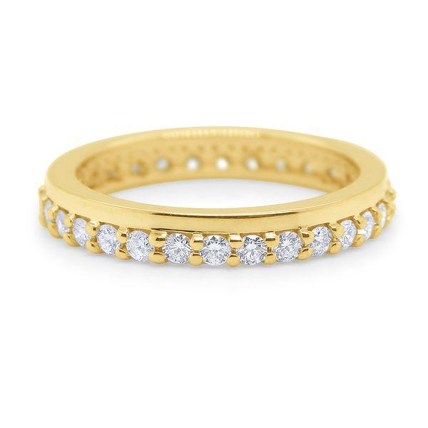 Gold and Diamond Stack Ring Mystique Jewelers Alexandria, VA