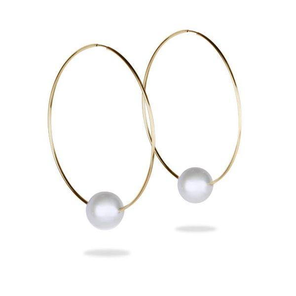 Biltmore Hoop Earrings Mystique Jewelers Alexandria, VA