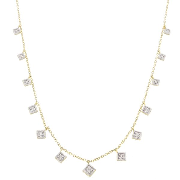 LISSE DANCING DIAMOND KITE NECKLACE Mystique Jewelers Alexandria, VA