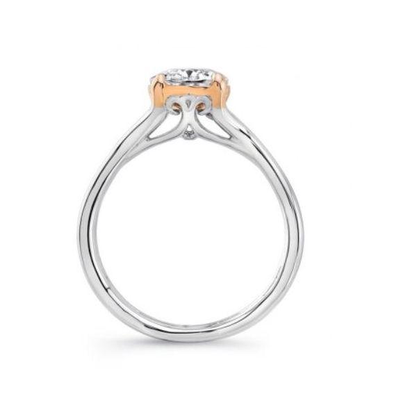 TWO-TONE ENGAGEMENT RINGS Image 2 Mystique Jewelers Alexandria, VA