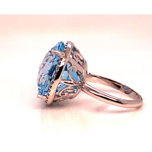Blue Topaz ring Image 2 Mystique Jewelers Alexandria, VA